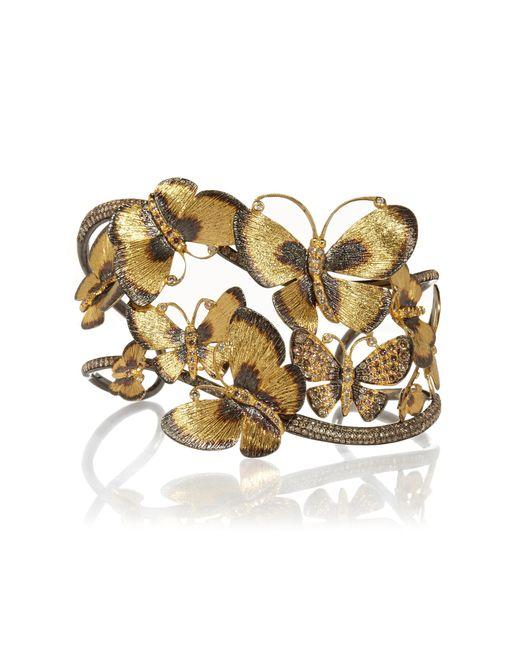 Annoushka - Metallic Butterflies Cuff - Lyst