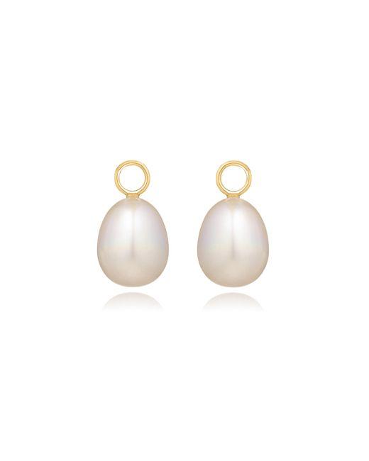 Annoushka - Metallic Classic Baroque Pearl Earring Drops - Lyst