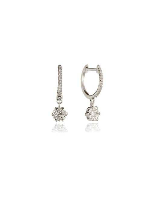 Annoushka | Metallic Daisy Hoop Earrings | Lyst