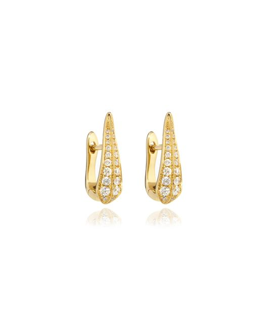 Annoushka | Metallic Diamond Hoop Earrings | Lyst