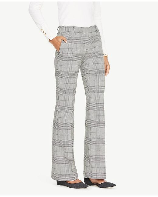 Ann Taylor - Black The Petite Madison Trouser In Houndstooth - Devin Fit - Lyst