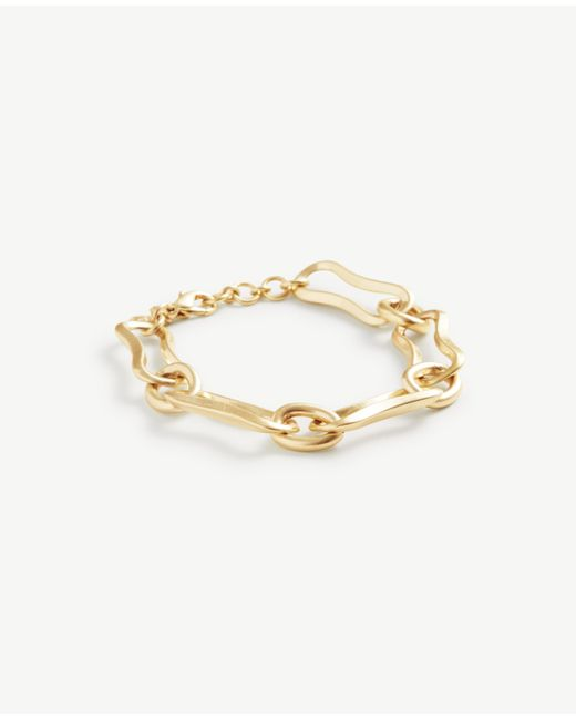 Ann Taylor | Metallic Chain Link Bracelet | Lyst