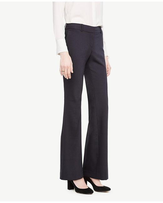 Ann Taylor - Blue The Trouser In Tropical Wool - Kate Fit - Lyst