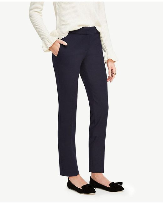 Ann Taylor | Blue The Petite Ankle Pant - Devin Fit | Lyst