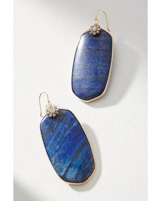Anthropologie - Blue Oliviana Drop Earrings - Lyst