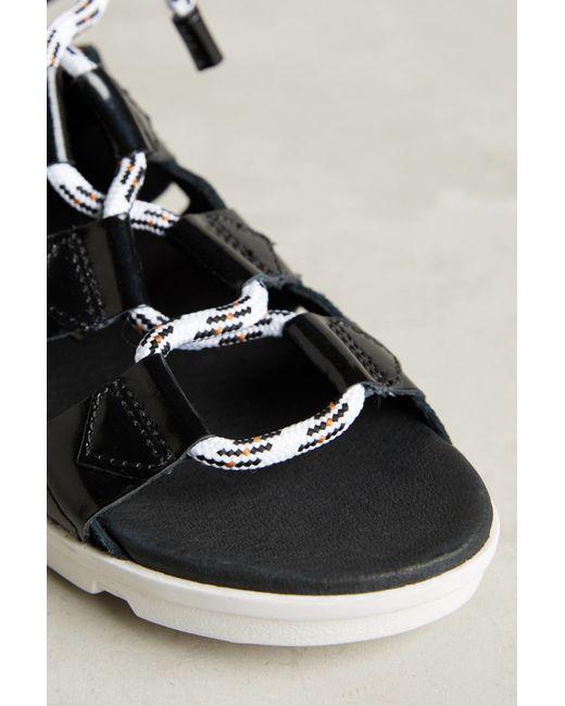 Sorel Torpeda Lace Sandals In Black Save 20 Lyst