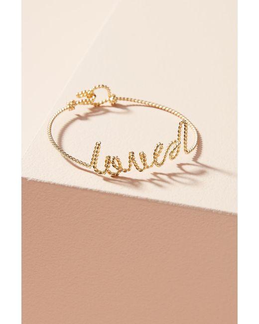 Anthropologie | Multicolor Lovely Sayings Bracelet | Lyst