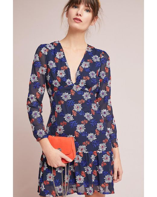 Ella Moss - Blue Everly Floral Dress - Lyst