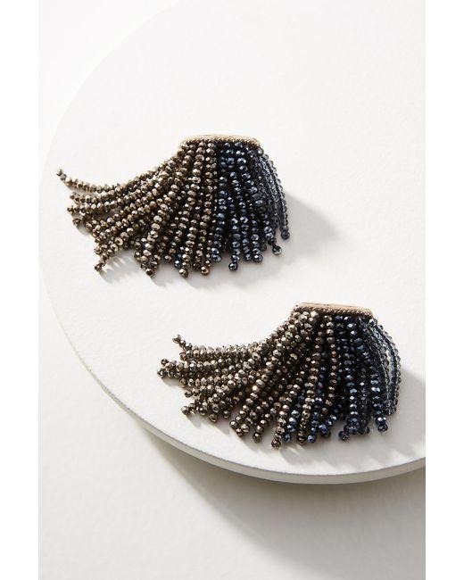 Suzanna Dai - Metallic Ombre Waterfall Drop Earrings - Lyst