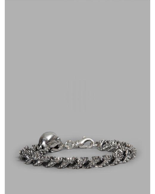 Emanuele Bicocchi   Metallic Bracelet   Lyst