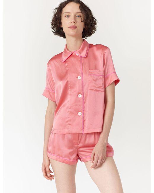 Araks - Pink Shelby Pajama Top Guava - Lyst