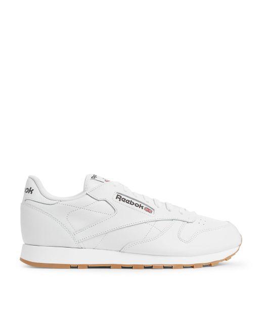 09865c9e295 Reebok - White Classic Leather for Men - Lyst ...