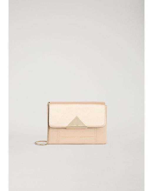 Lyst - Emporio Armani Clutch Bag in Natural - Save 50.101010101010104% 60fd036956