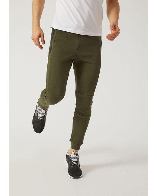 Emporio Armani - Green Sweatpants for Men - Lyst