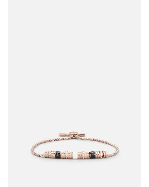 Emporio Armani - Pink Bracelet - Lyst