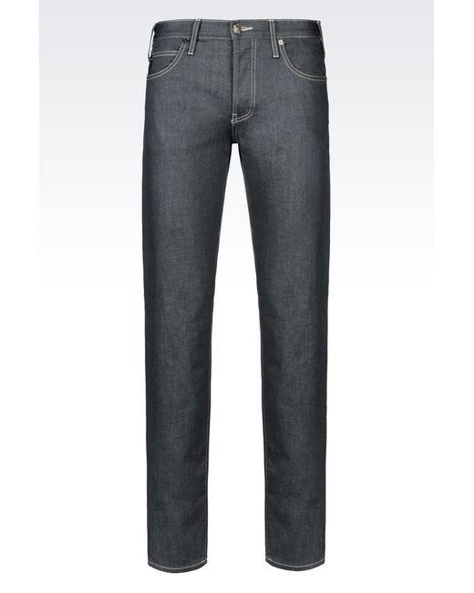 Armani Jeans | Black Jeans for Men | Lyst