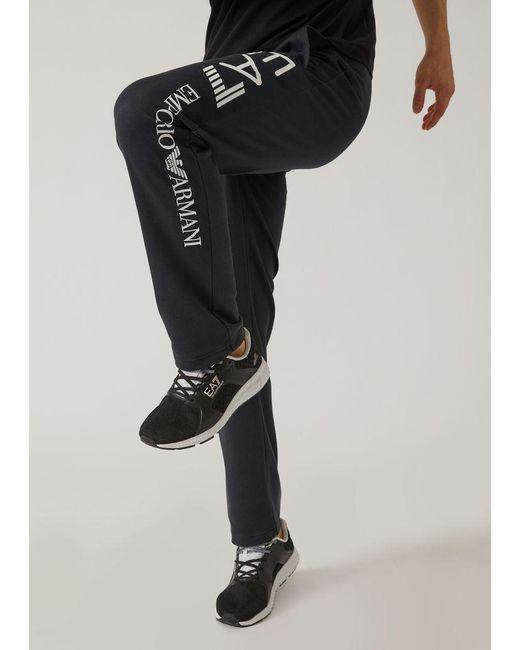 21e086415 Lyst - Emporio Armani Sweatpants in Blue for Men