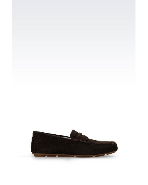 Armani Jeans | Brown Loafer for Men | Lyst