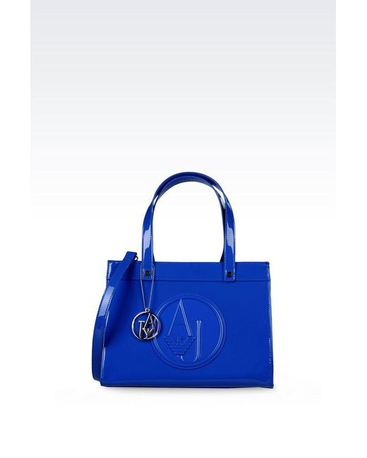 Armani Jeans | Blue Shopper | Lyst