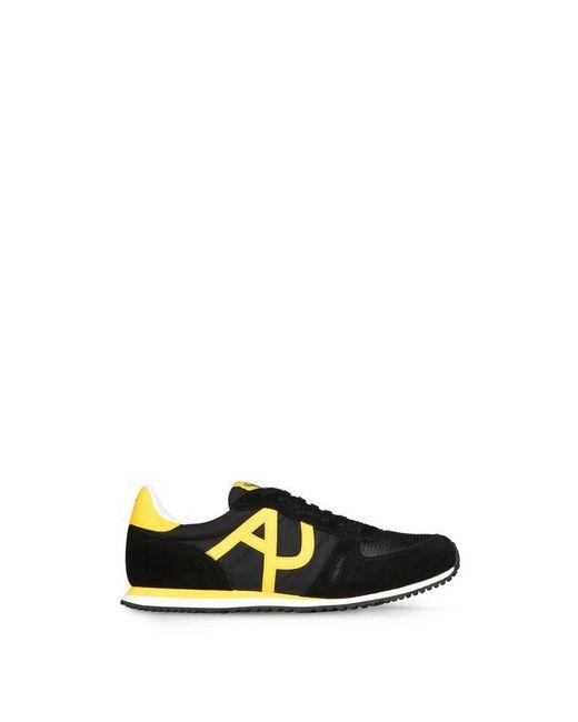 Armani Jeans   Black Shoe for Men   Lyst