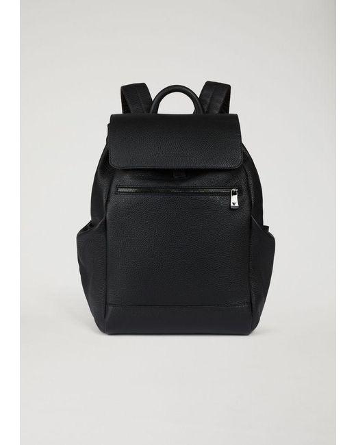 3e6e1769746 Emporio Armani - Black Backpack for Men - Lyst ...