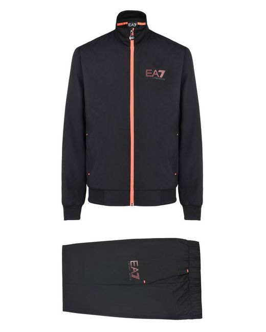 EA7 | Black Sweatsuit for Men | Lyst