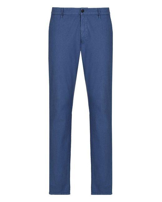 Armani Jeans   Blue Classic Pant for Men   Lyst