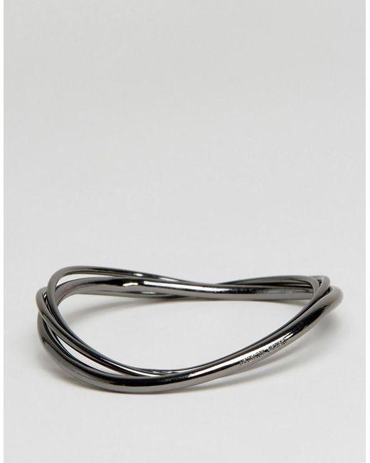 Cheap Monday | Metallic Loop Bangle | Lyst