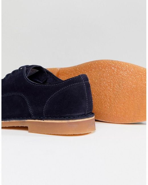 Selected Suede Derby Shoes RTRrmbzy