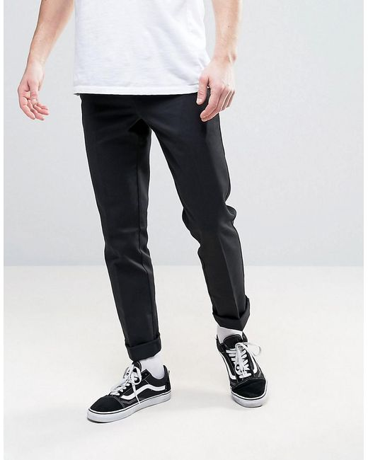 Dickies - Black 872 Work Pant Chino In Slim Fit for Men - Lyst ... af53314c0a5a