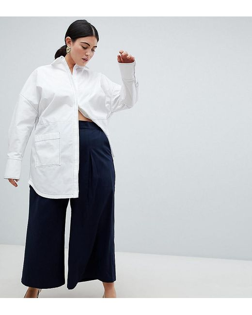 ASOS - Blue Curve Basketball Trousers With Pleat Detail - Lyst