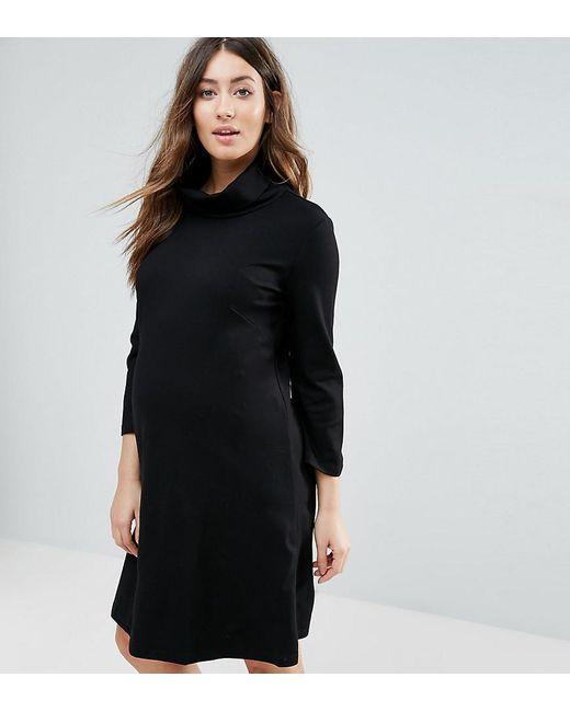 Isabella Oliver   Black Marlow Maternity Tunic Dress   Lyst