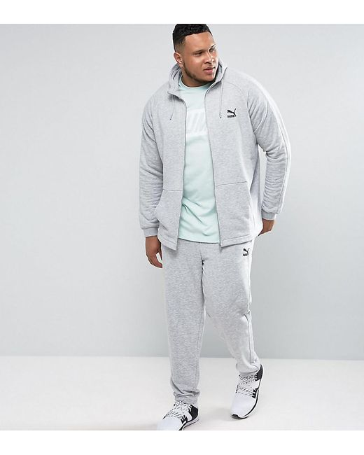 PUMA - Plus Tracksuit Set Gray Exclusive To Asos for Men - Lyst
