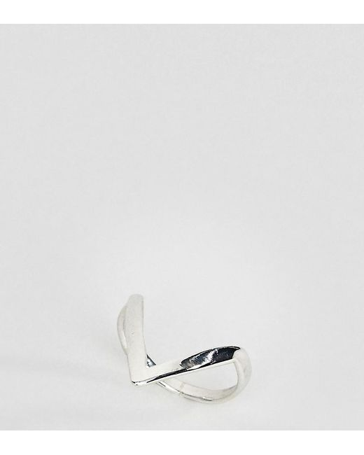 Kingsley Ryan - Metallic Kinglsey Ryan Sterling Silver Minimal Arrow Ring - Lyst