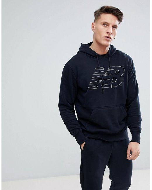 new balance pullover schwarz