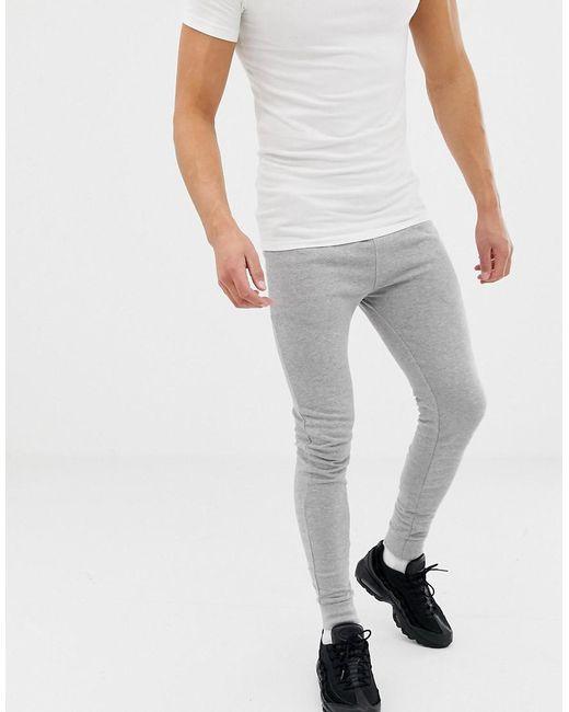 152cc663 Men's Super Skinny Sweatpants In Gray Marl