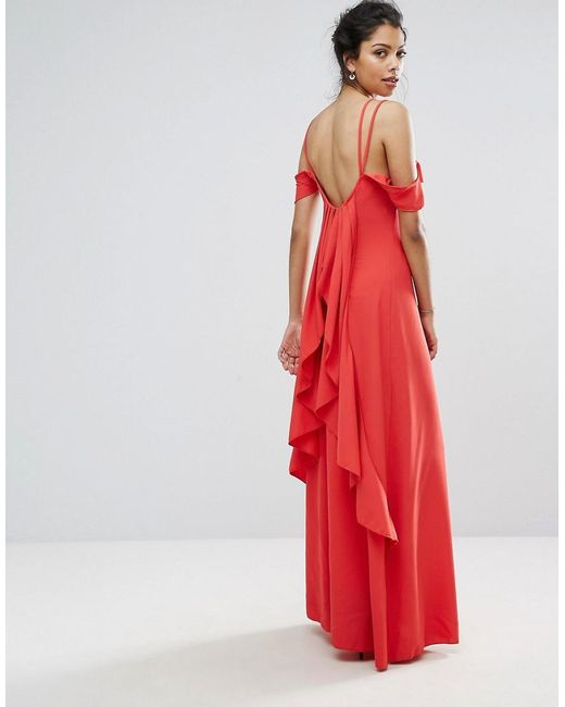 9501dff37e51 2) Hollie chiffon cape detail dress. €29 from Boohoo.com. Available in  sizes 8-14.
