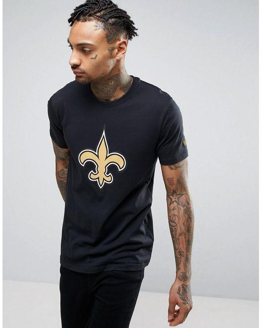 KTZ | Black Nfl New Orleans Saints T-shirt for Men | Lyst