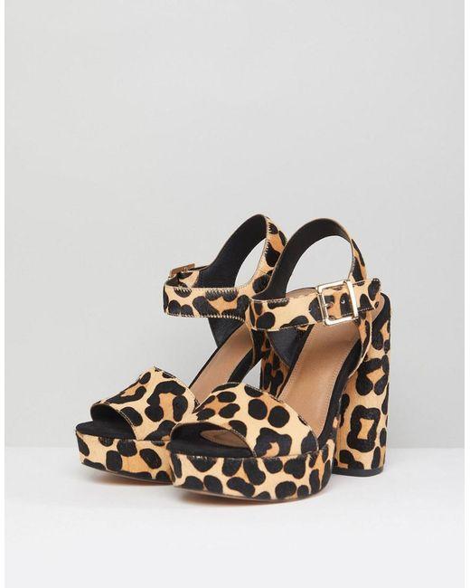 HIDDEN GEM Leather Platform Sandals clearance popular discount wide range of ost release dates discount 2014 unisex brand new unisex online 2ySYLZELE