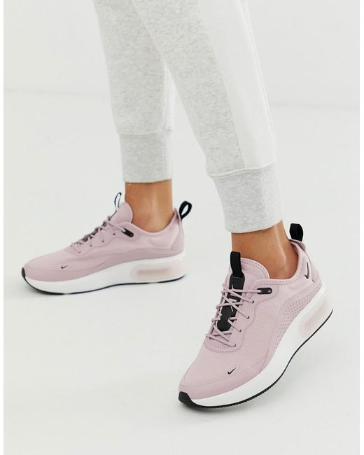 quality design 7b4d6 9816a Nike - Pink Air Max Dia Trainers - Lyst ...