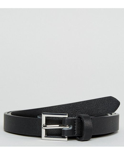 ASOS - Black Ceinture ultra fine habille en similicuir for Men - Lyst ... f70e7611b1b