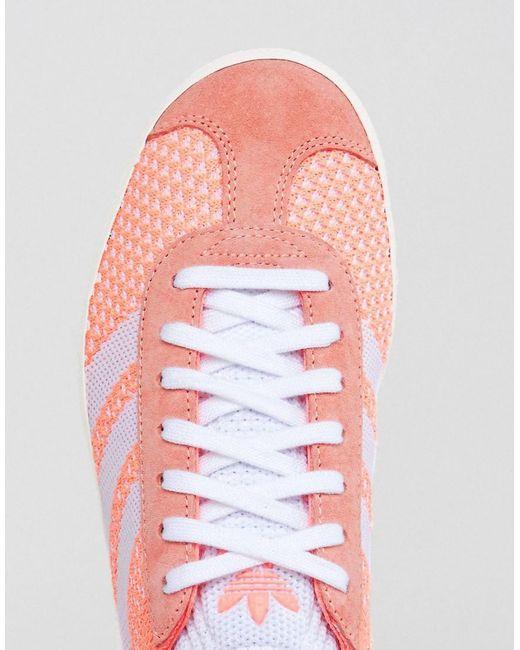 adidas Coral Primeknit Gazelle Sneakers