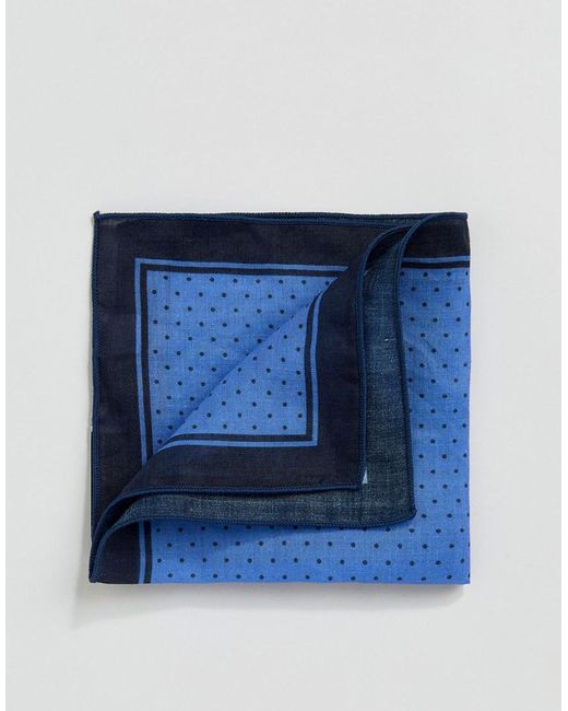 SELECTED - Blue Pochette for Men - Lyst
