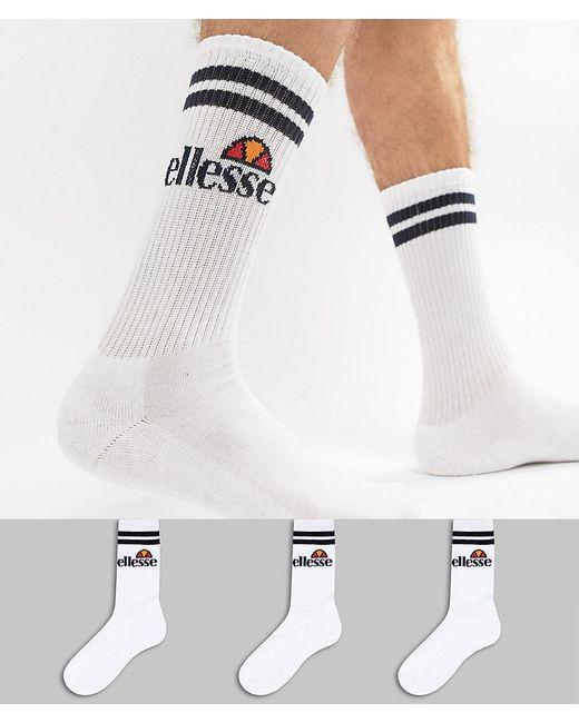 Ellesse - Pullo 3-pack Socks In White for Men - Lyst