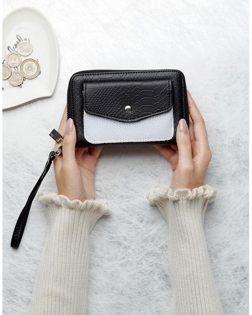French Connection | White Purse With Mesh Pocket | Lyst