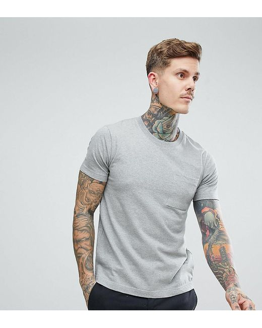 9641a0c92 Lyst - Nudie Jeans Co Kurt Worker T-shirt In Gray in Gray for Men