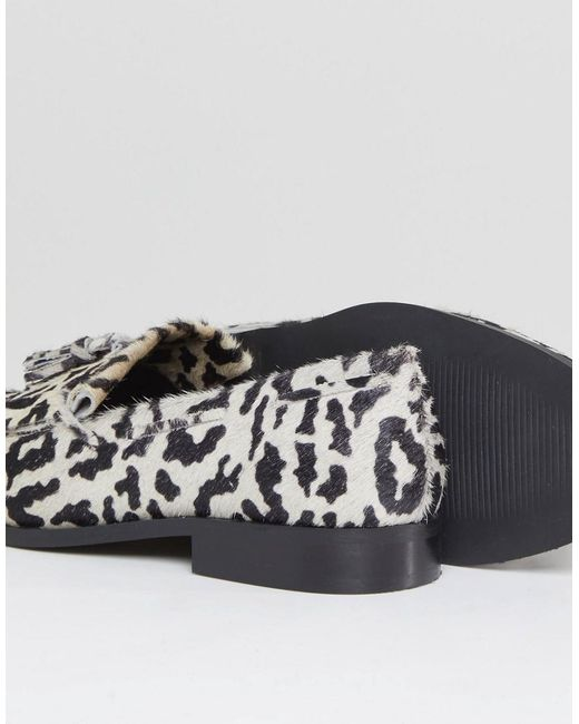 ASOS DESIGN Maidia Leather Loafers wsxAw3A