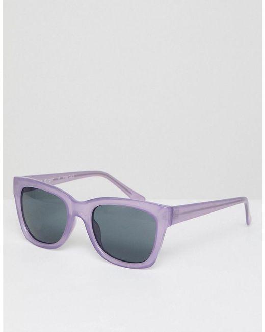 4e12844498 A.J. Morgan - Multicolor Gafas de sol redondas en violeta de for Men - Lyst  ...