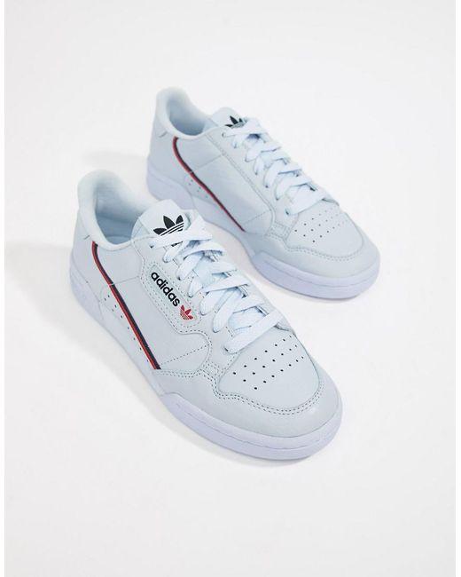 wholesale dealer e95aa 2537e 80s In Lyst Continental Originals Trainers Blue Adidas rwXtX