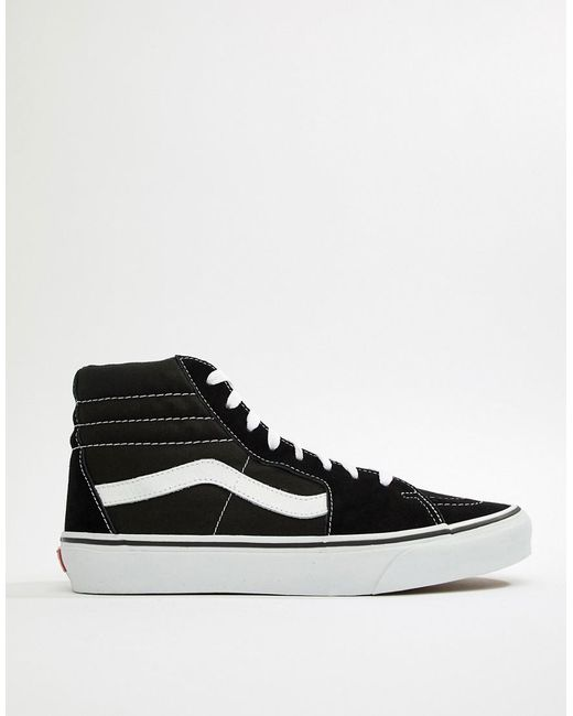034667bf14 Vans Sk8-hi Trainers In Black Vd5ib8c in Black for Men - Lyst